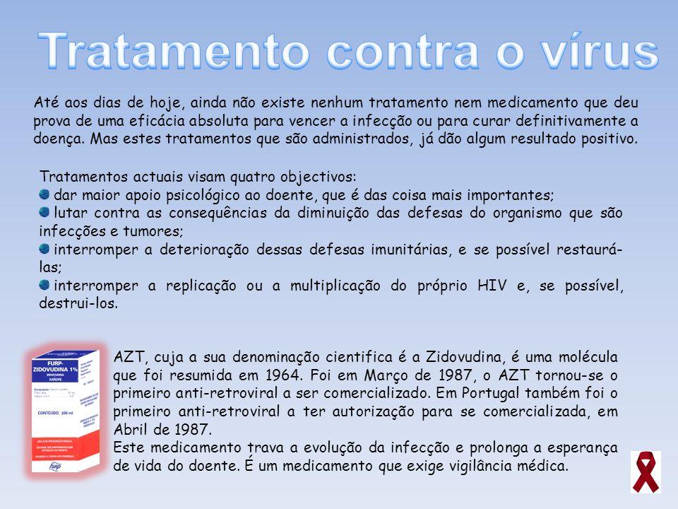 Tratamento contra o vírus