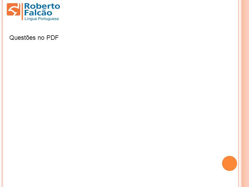 Questões no PDF