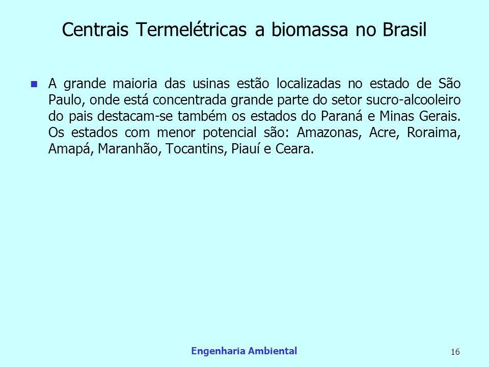Centrais Termelétricas a biomassa no Brasil