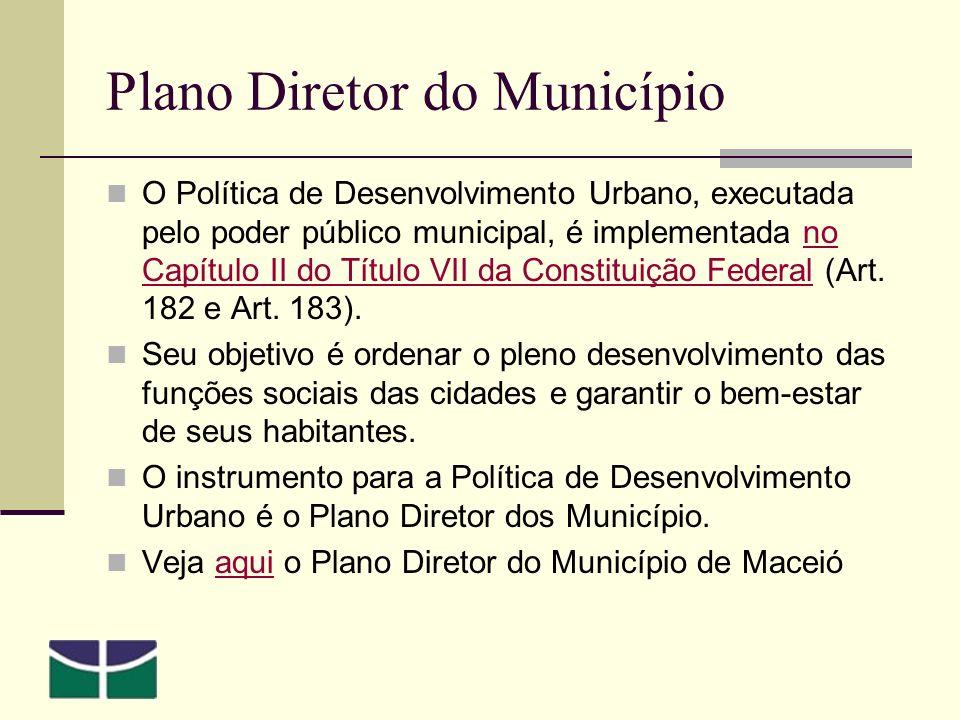 Plano Diretor do Município