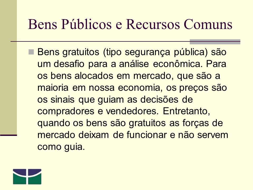 Bens Públicos e Recursos Comuns