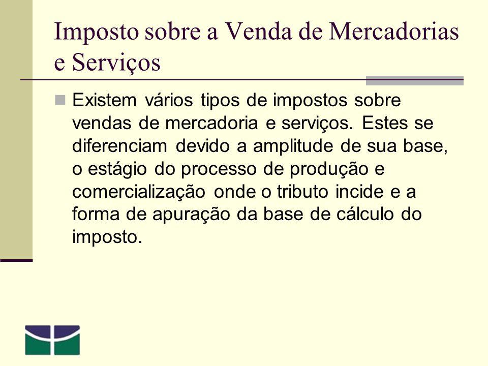 Imposto sobre a Venda de Mercadorias e Serviços