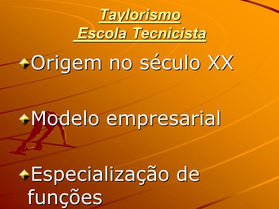 Taylorismo Escola Tecnicista