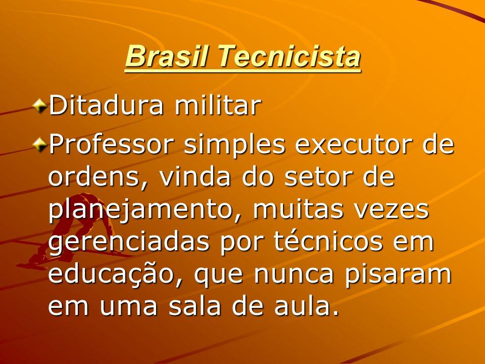 Brasil Tecnicista Ditadura militar