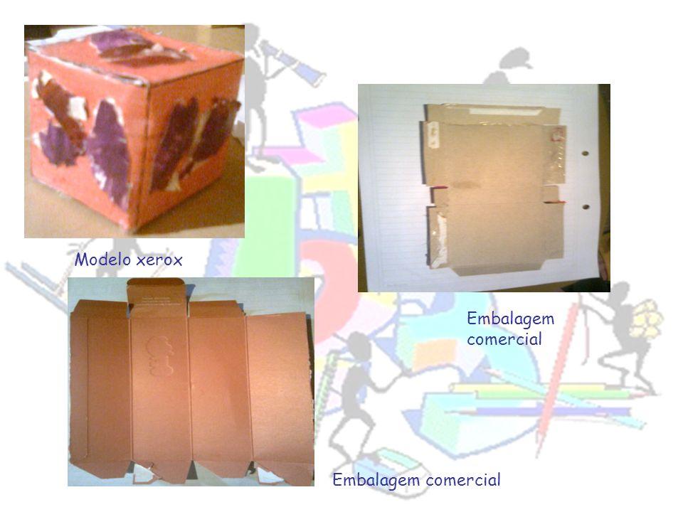 Modelo xerox Embalagem comercial Embalagem comercial