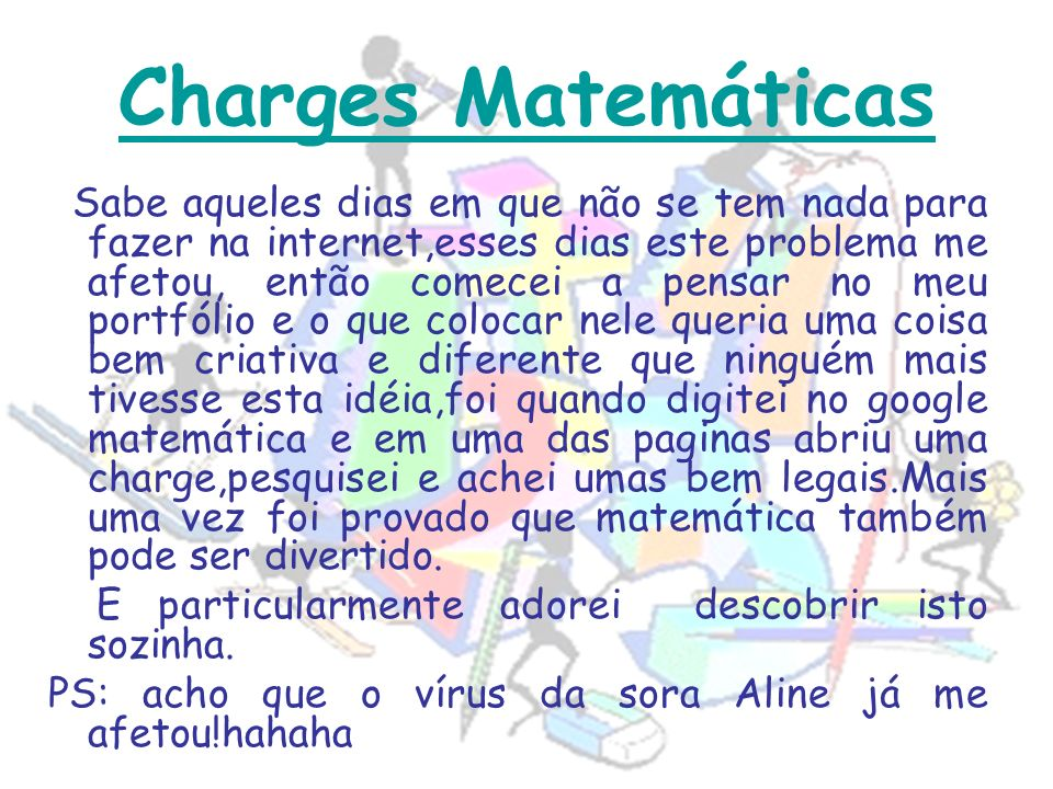 Charges Matemáticas