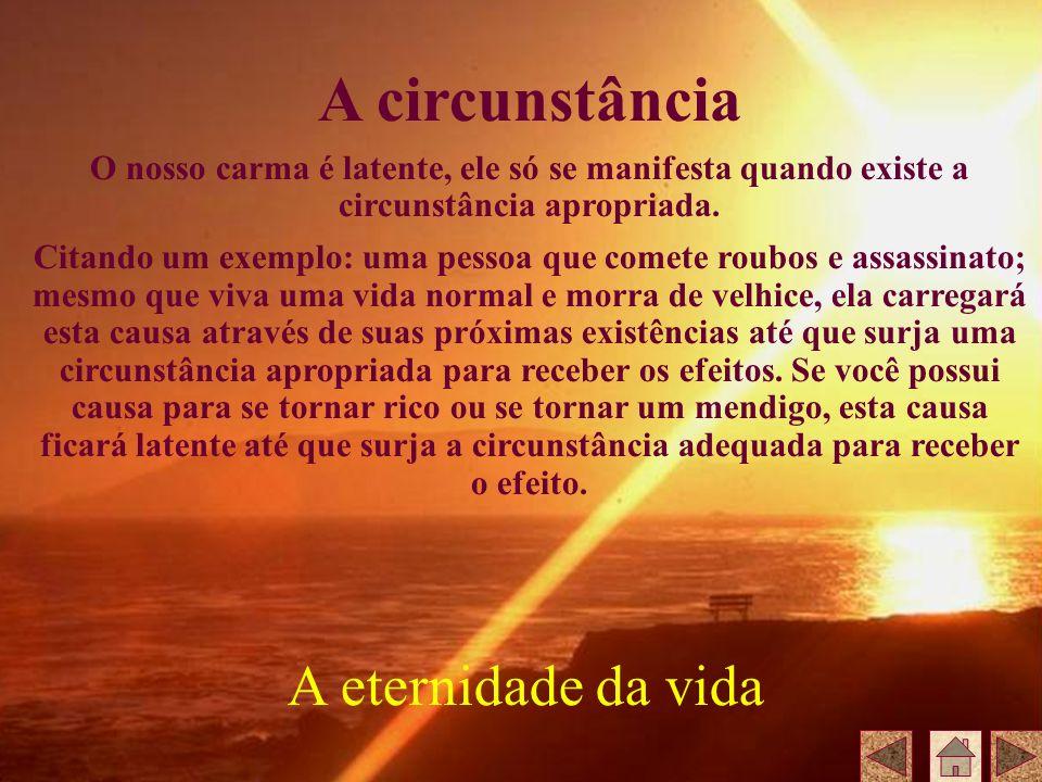 A circunstância A eternidade da vida