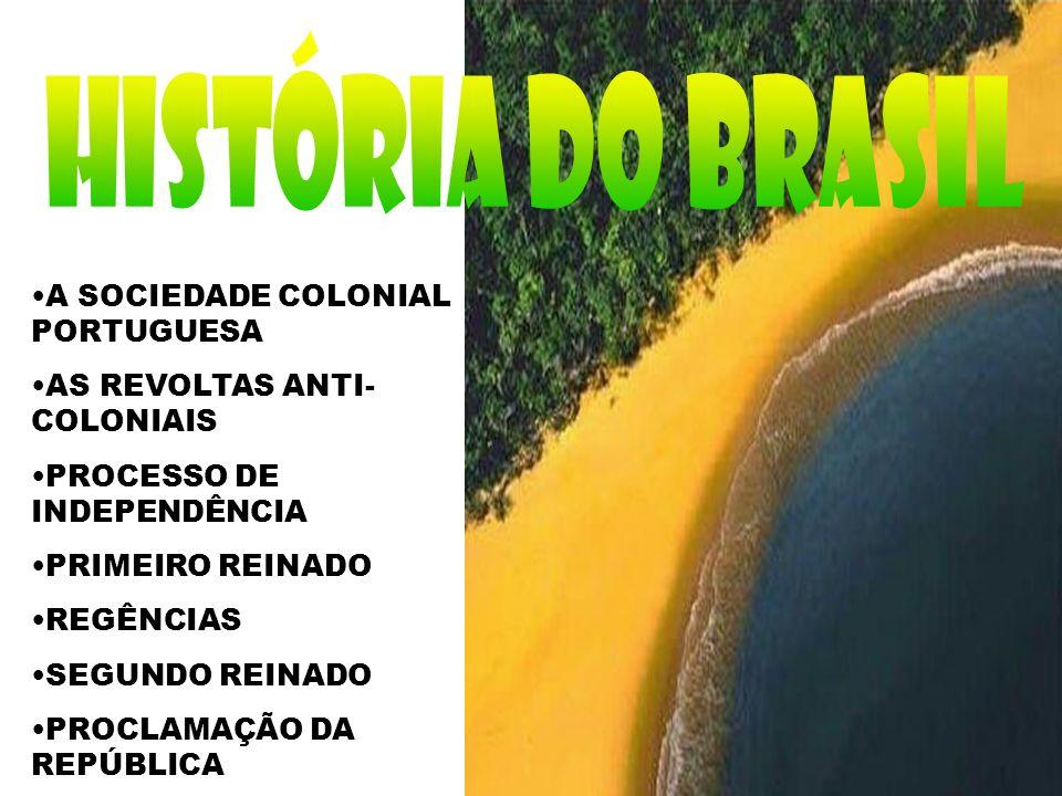 HISTÓRIA DO BRASIL A SOCIEDADE COLONIAL PORTUGUESA
