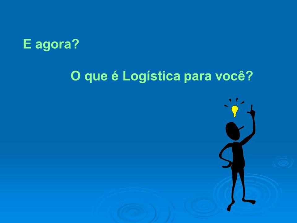 E agora O que é Logística para você