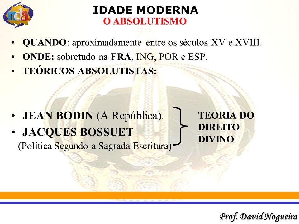JEAN BODIN (A República). JACQUES BOSSUET