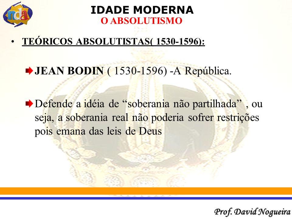 JEAN BODIN ( 1530-1596) -A República.