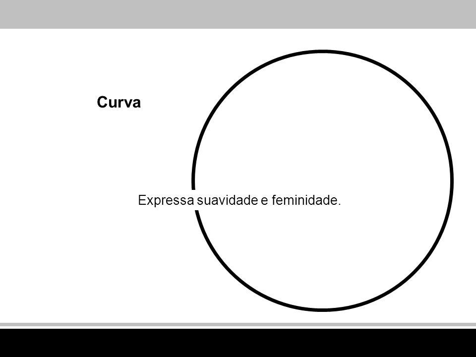 Curva Expressa suavidade e feminidade.