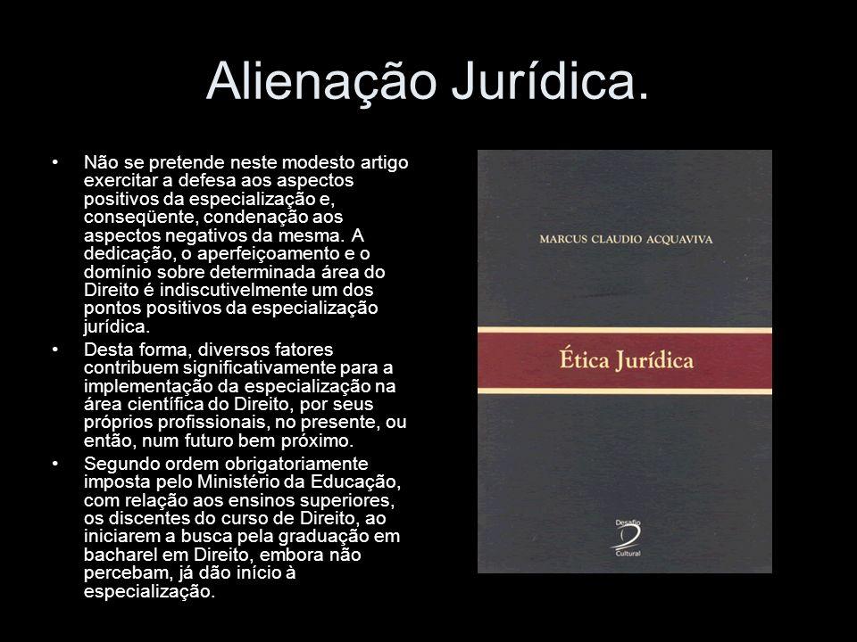 Alienação Jurídica.