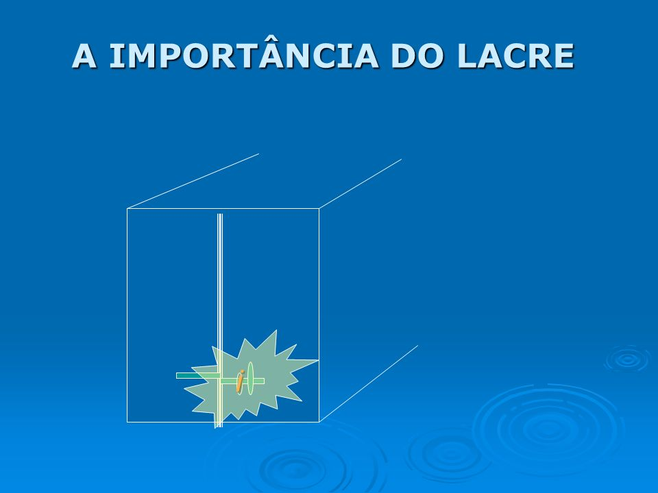 A IMPORTÂNCIA DO LACRE i