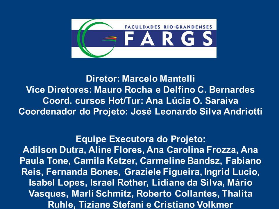 Diretor: Marcelo Mantelli Vice Diretores: Mauro Rocha e Delfino C