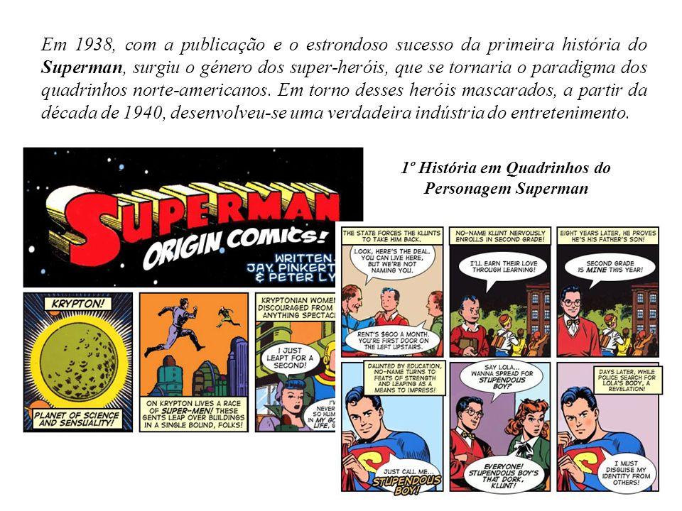 1º História em Quadrinhos do Personagem Superman