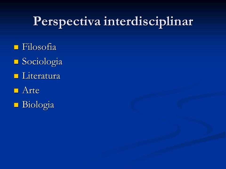 Perspectiva interdisciplinar