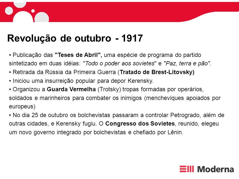 Revolução de outubro - 1917