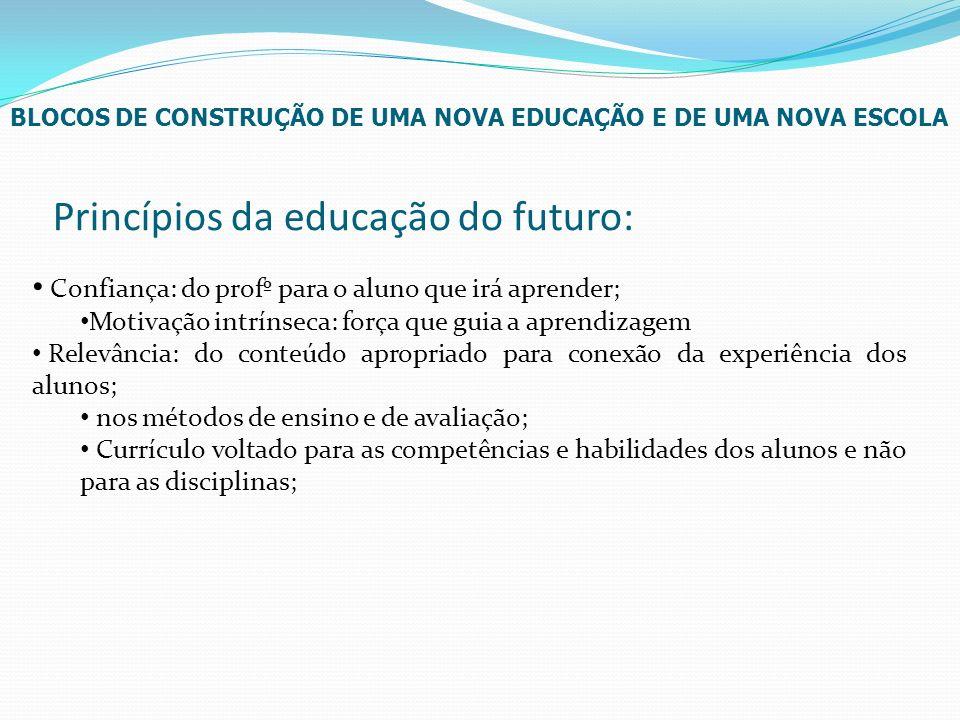 Princípios da educação do futuro:
