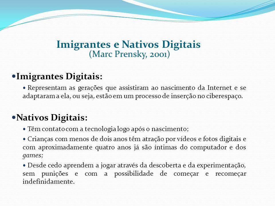 Imigrantes e Nativos Digitais