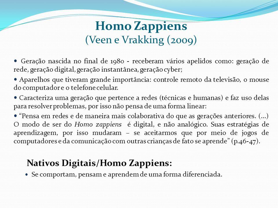 Homo Zappiens (Veen e Vrakking (2009)