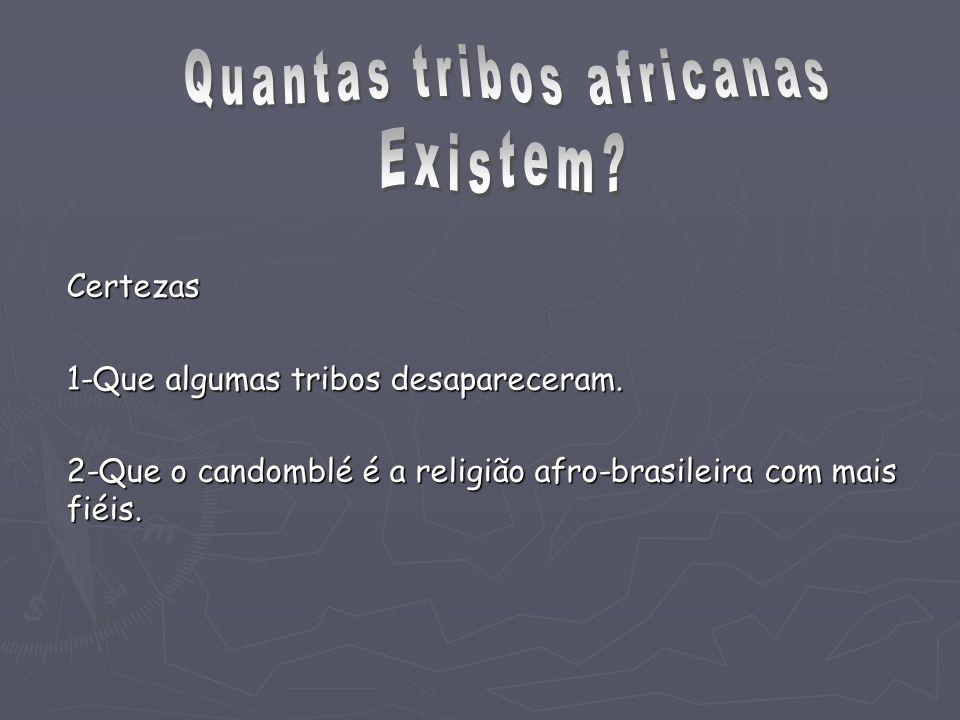 Quantas tribos africanas