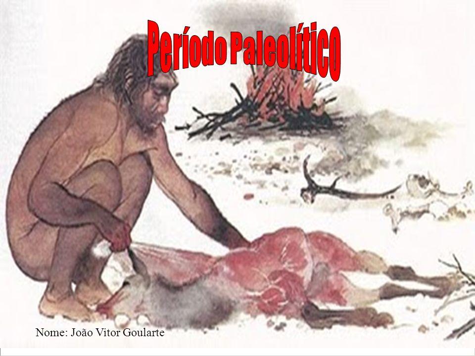 Período Paleolítico Nome: João Vitor Goularte