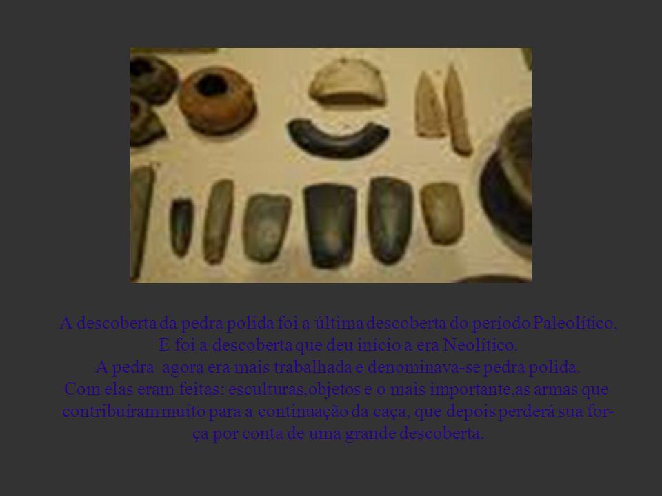 A descoberta da pedra polida