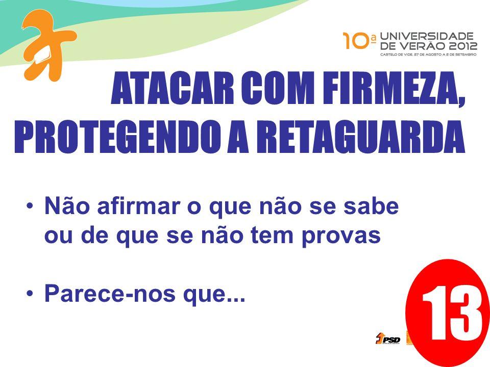 13 ATACAR COM FIRMEZA, PROTEGENDO A RETAGUARDA