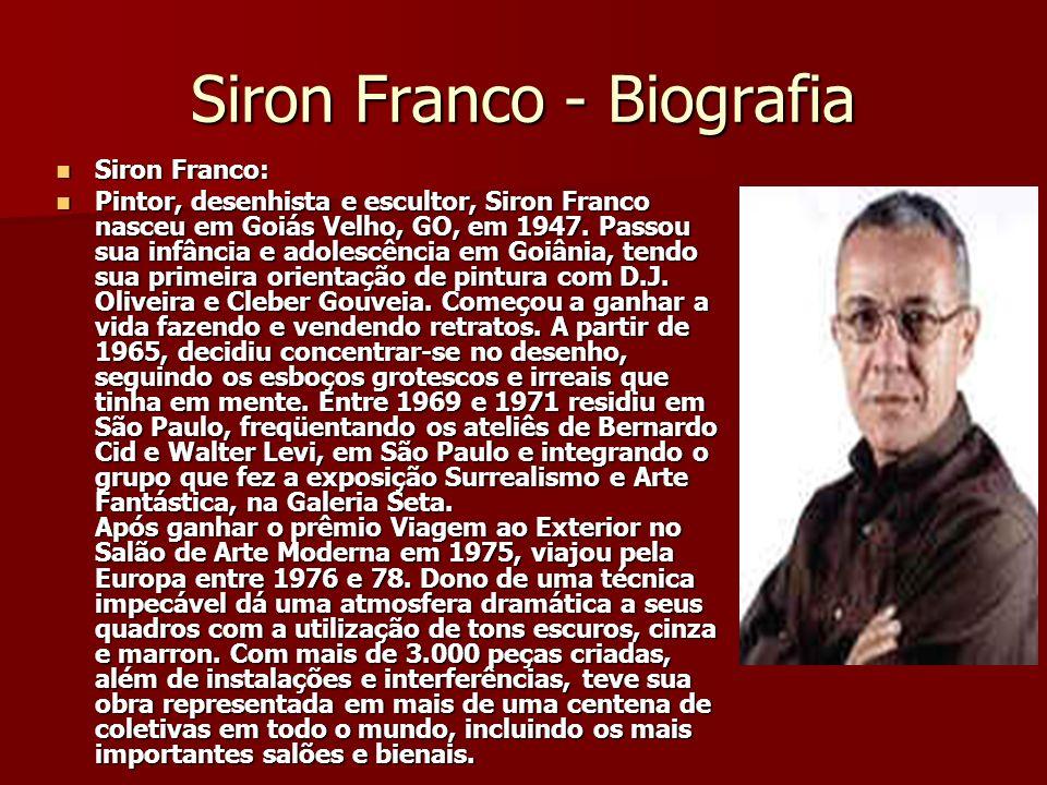 Siron Franco - Biografia