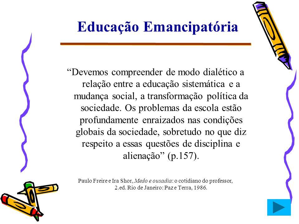 Educação Emancipatória