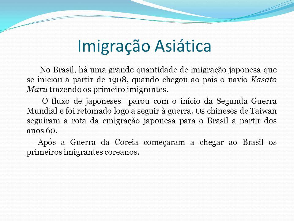 Imigração Asiática