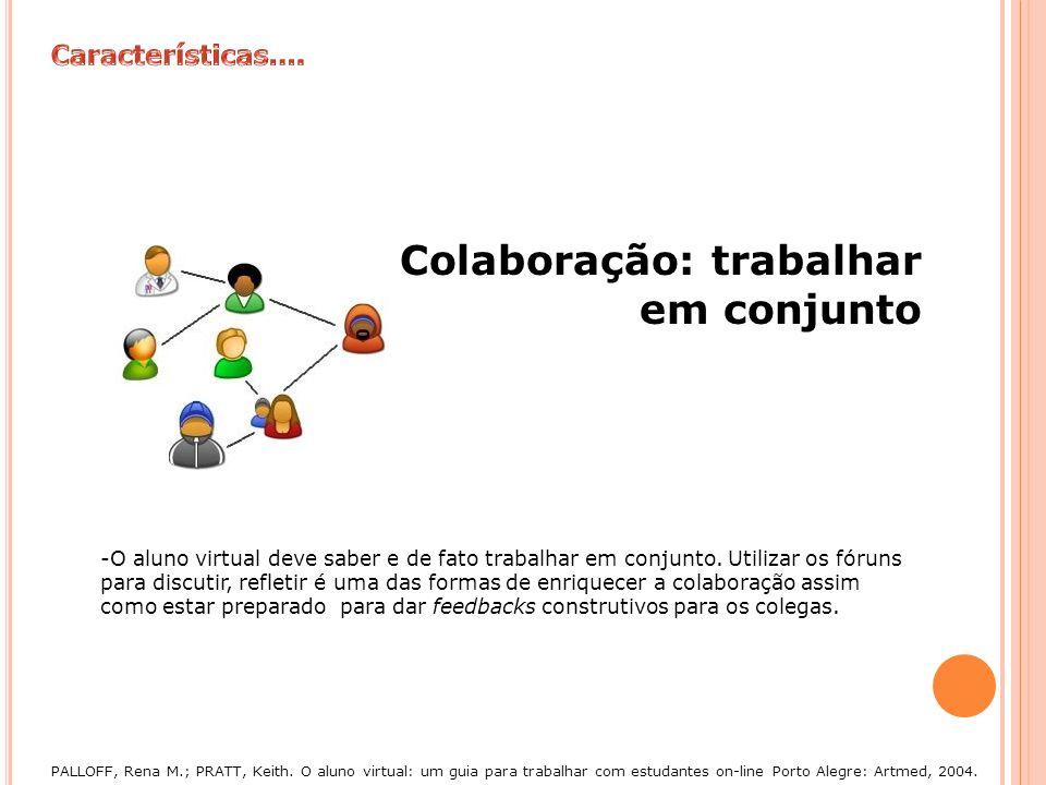 Colaboração: trabalhar em conjunto