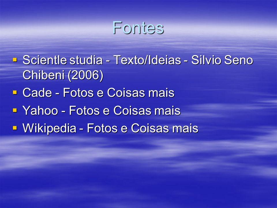 Fontes Scientle studia - Texto/Ideias - Silvio Seno Chibeni (2006)