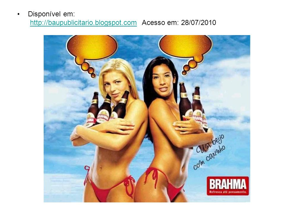 Disponível em: http://baupublicitario. blogspot