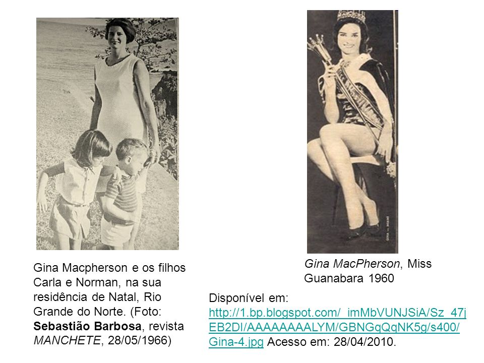 Gina MacPherson, Miss Guanabara 1960