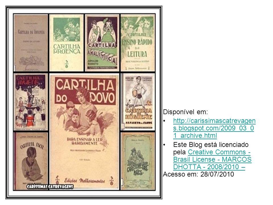 Disponível em: http://carissimascatrevagens.blogspot.com/2009_03_01_archive.html.