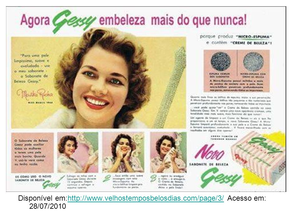 Disponível em:http://www. velhostemposbelosdias