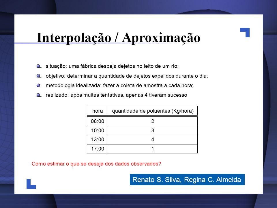Renato S. Silva, Regina C. Almeida