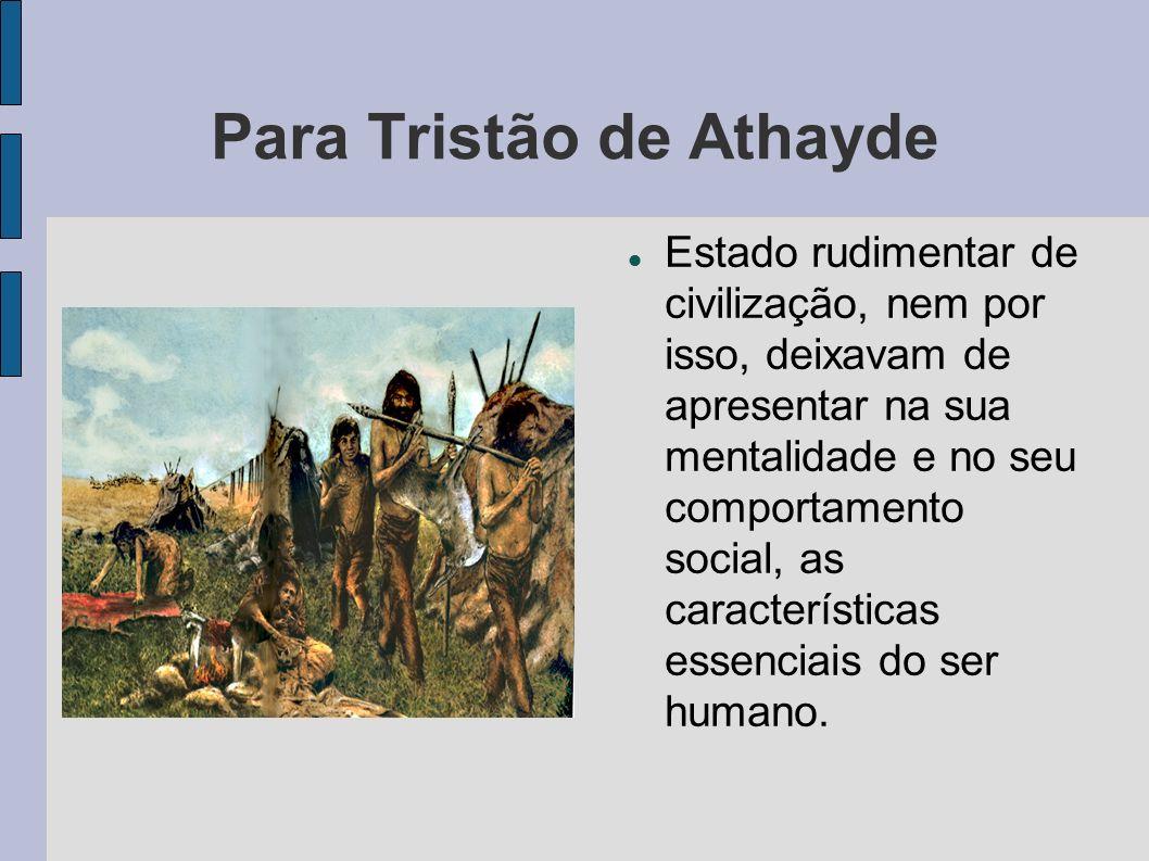 Para Tristão de Athayde