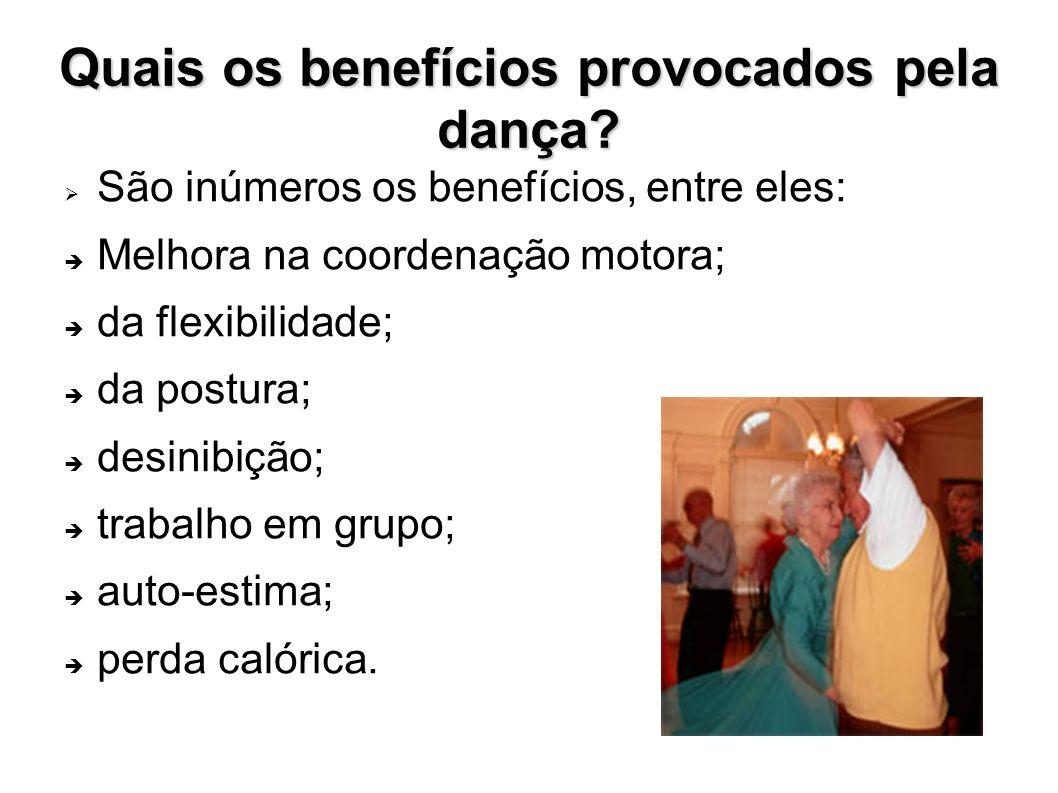 Quais os benefícios provocados pela dança