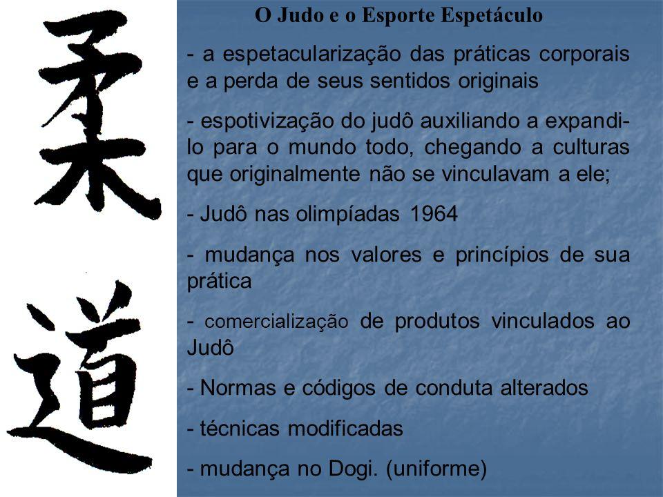 O Judo e o Esporte Espetáculo