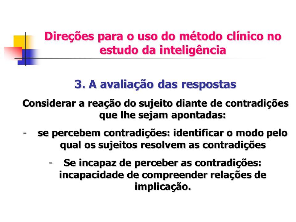 Direções para o uso do método clínico no estudo da inteligência