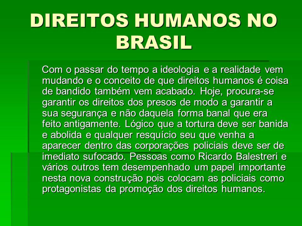DIREITOS HUMANOS NO BRASIL