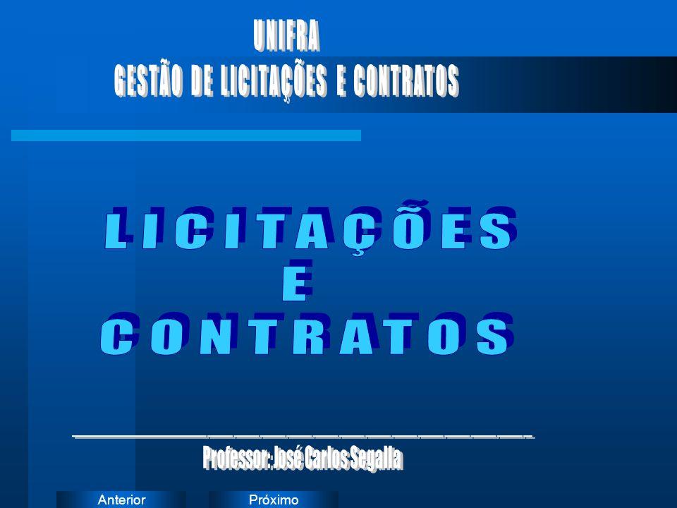 LICITAÇÕES E CONTRATOS UNIFRA GESTÃO DE LICITAÇÕES E CONTRATOS