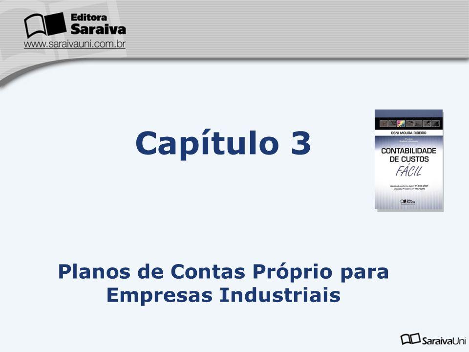 Planos de Contas Próprio para Empresas Industriais