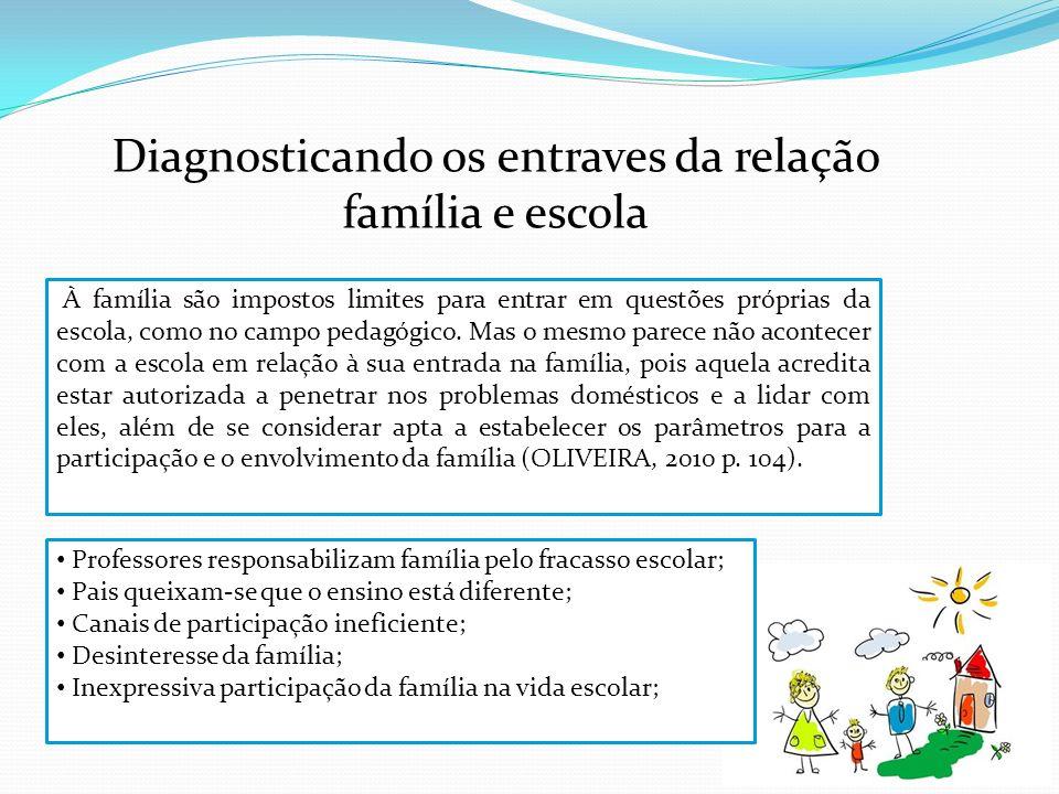 Diagnosticando os entraves da relação família e escola