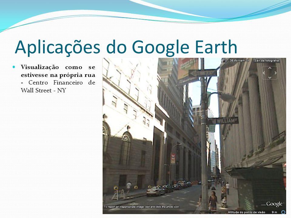 Aplicações do Google Earth