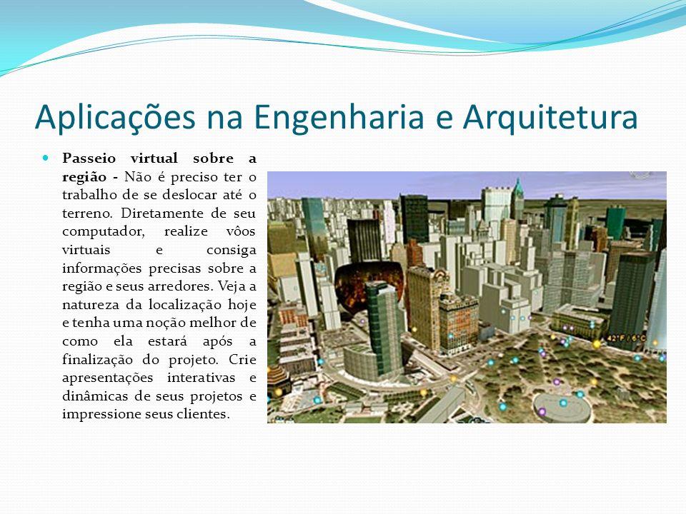 Aplicações na Engenharia e Arquitetura