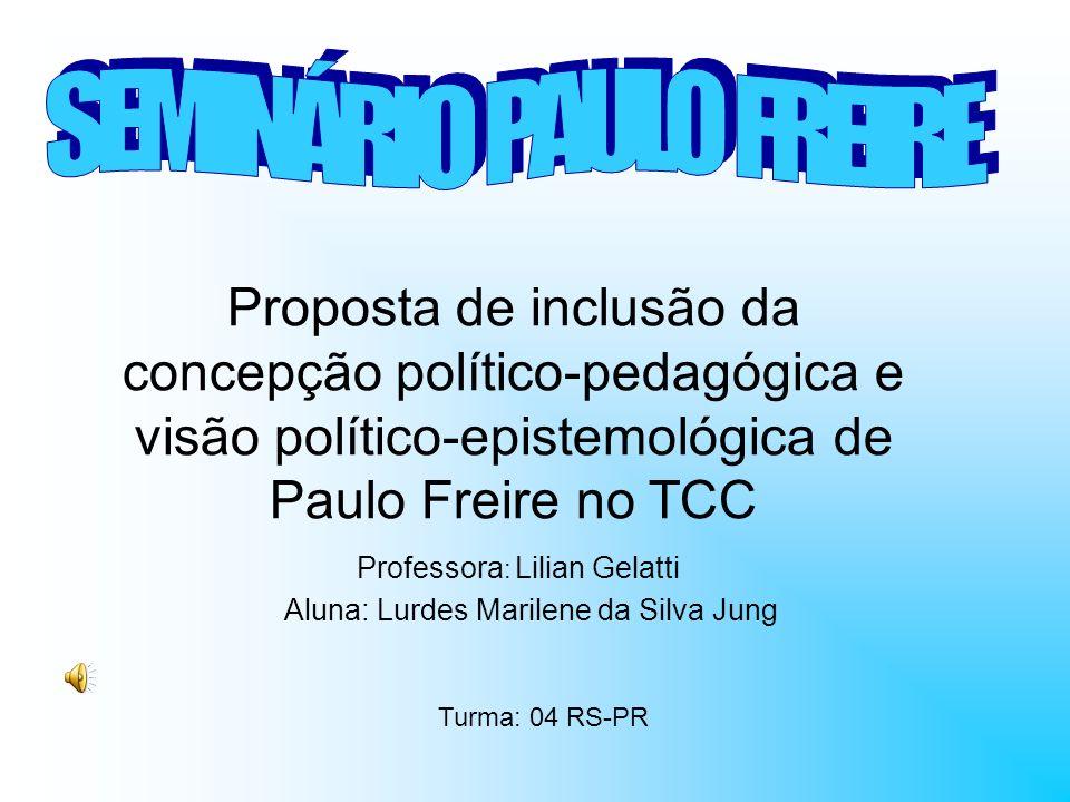 SEMINÁRIO PAULO FREIRE